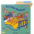 Ten Little Monkeys: Jumping on the Bed (Books with Holes)