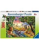 Ravensburger - 13073 - Puzzle - Watering Hole - 300 pièces