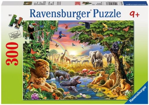 Evening at The Waterhole Jigsaw Puzzle, 300-Piece - 1