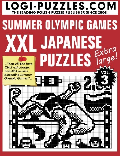XXL Japanese Puzzles: Summer Olympic Games (Japanese Number Puzzles compare prices)