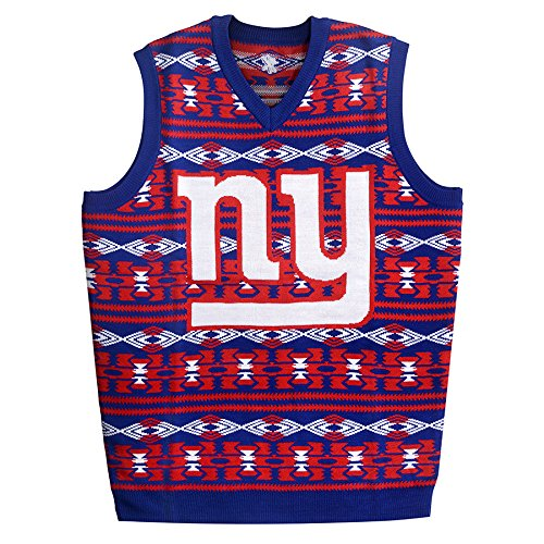 New York Giants Ugly Sweater Vest
