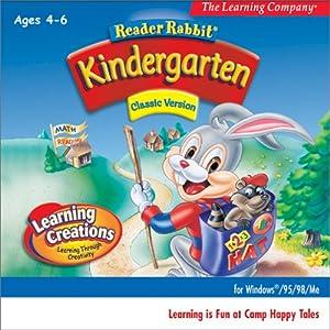 reader rabbit kindergarden