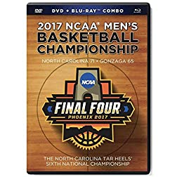 North Caralina Tar Heels 2017 NCAA Men's Basketball Championship DVD/Bluray Combo