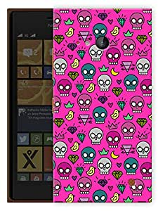 """Humor Gang Skulls Can Be Cute Too Printed Designer Mobile Back Cover For """"Nokia Lumia 730"""" (3D, Matte, Premium Quality Snap On Case)"""