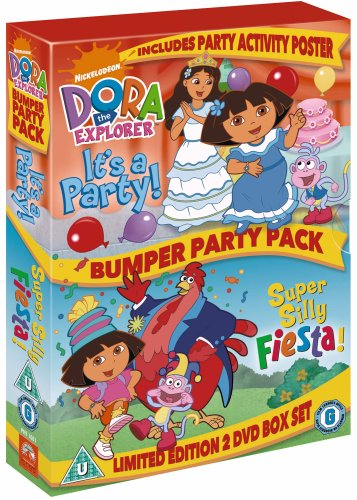Dora The Explorer - Bumper Party Pack [DVD]
