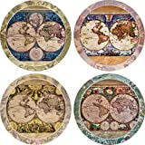 CoasterStone AS285 Absorbent Coasters, 4-1/4-Inch,