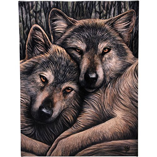 Lisa Parker Loyal Companions Canvas by Spirit of Equinox