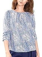 ESPRIT Collection Blusa (Azul Claro)