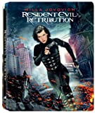 Resident Evil Retribution Steelbook Blu-ray 3D/2D + DVD