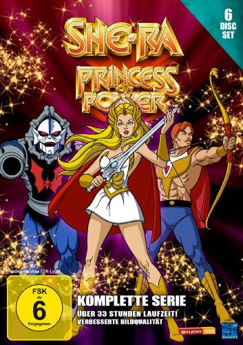 She-Ra - Princess of Power - Die komplette Serie [6 Disc Set] [Edizione: Germania]