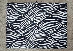 Zebra with Black Ribbon French / Memo Board