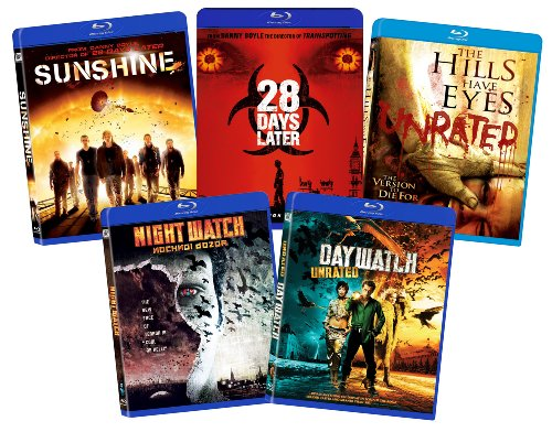 Fox-Searchlight-Thriller-Bundle-Hills-Have-Eyes-28-Days-Later-Sunshine-Night-Watch-and-Day-Watch-Blu-ray