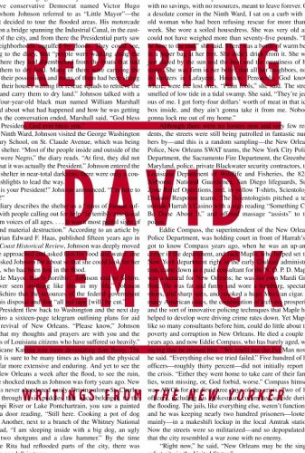 Reporting: Writings from The New Yorker, David Remnick