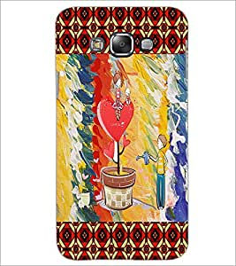 PrintDhaba Funny Image D-4600 Back Case Cover for SAMSUNG GALAXY A7 (Multi-Coloured)
