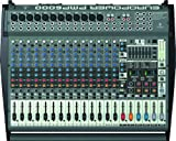 Best Price  Behringer Europower PMP6000 1600-Watt 20-Channel Powered Mixer with Dual Multi-FX Processor and FBQ Feedback Detection System