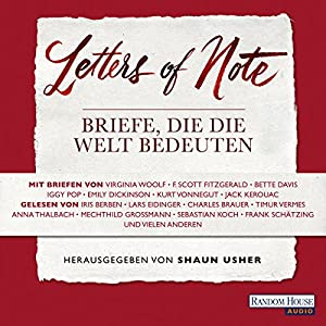 Letters of Note Hörbuch