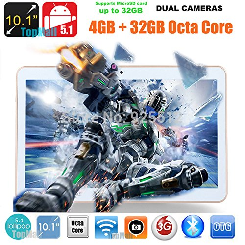 Black 9.7 inch 8 core Tablet PC Octa Cores 2560X1600 IPS RAM 4GB ROM 32GB 8.0MP WIFI 3G Dual sim card Wcdma+GSM Tablets PCS Android5.1