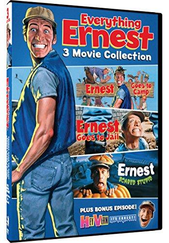 Everything Ernest - Ernest Goes to Camp, Ernest Goes to Jail and Ernest Scared Stupid + Bonus Episode of Hey Vern, It's Ernest