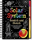 img - for Solar System Scratch and Sketch: An Activity Book For Inquisitive Artists and Astronauts of All Ages (Scratch & Sketch) book / textbook / text book