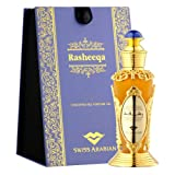 RASHEEQA Perfume Oil for Women 20mL, is Charming Oriental Garden Full of Flowers in Bloom; Rose, Fresh Greens, and Jasmine with a Musk, Sandalwood and Cedarwood Base by Oud Artisan Swiss Arabian (Color: Concentrated Perfume Oil (20ml), Tamaño: One Size)
