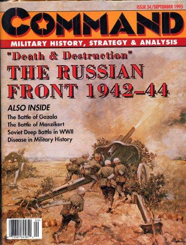 Xtr: Command Magazine #34, With Rommel At Gazala Board Game & Death And Destruction Kit