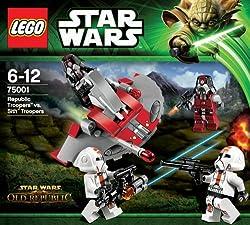 レゴ スター・ウォーズ リパブリック・トルーパー™ vs シス™・トルーパー 75001