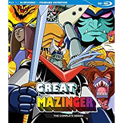 Great Mazinger Complete Series SDBD [Blu-ray]