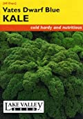 Lake Valley 162 Kale Vates Dwarf Blue Seed Packet