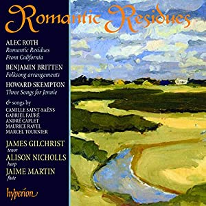 Romantic Residues: Songs for Tenor & Harp