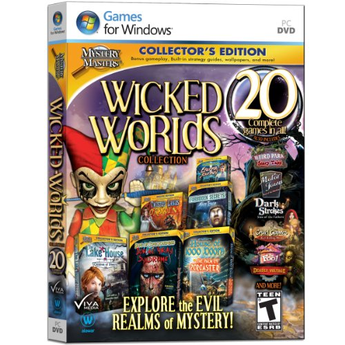 Mystery Masters: Wicked Worlds Collection (Wicked Good Finds compare prices)