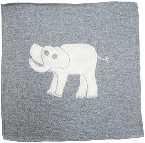 Estella Alpaca Baby Blanket, Elephant