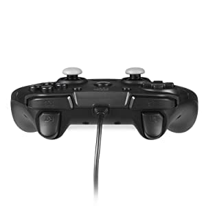 PC PC3 Wired Game Controller, EasySMX Joystick with Dual-Vibration Feedback for PC/PS3/TV Box/Android Phones (Black) (Color: Game Controller( New Black))