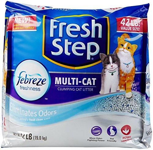 fresh-step-cat-litter-261371-fresh-step-multiple-cat-litter-strength-42-pound