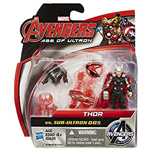 Avengers - Marvel Avengers Age of Ultron Thor Vs. Sub-Ultron 005 2.5-inch Figure Pack