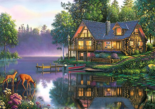 Buffalo Games Kim Norlien: Cabin Fever - 300 Piece Jigsaw Puzzle by Buffalo Games