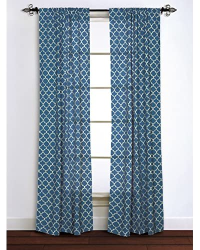 Rizzy Home Navy Moroccan Window Panel