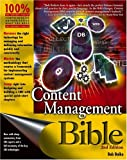 Content Management Bible (2nd Edition)