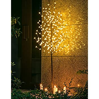 Twinkle Star 6 Feet Cherry Blossom Tree Light 