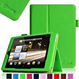 Fintie Folio Case for Acer Iconia A1-810 7.9 -Inch Tablet Slim Fit With Stylus Holder - Green