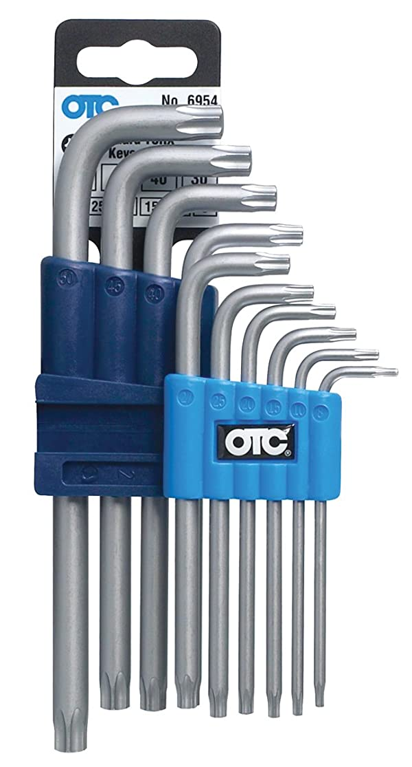 OTC 6954 Torx Standard L Key Set - 10 Piece