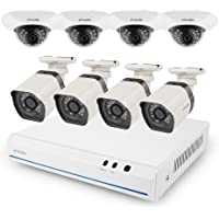 Zmodo 8Ch. NVR 8-Cam. HD Security System w/ 2TB HDD