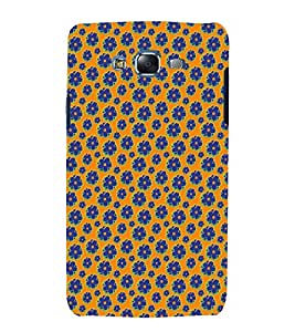 Vizagbeats Floral Pattern Back Case Cover for Samsung Galaxy A7