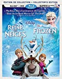 La reine des neiges / Frozen [Blu-ray + DVD + copie numrique] (Bilingual)
