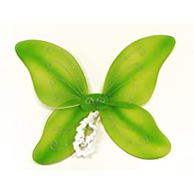 Tinkerbell Green Costume Wings. Kids