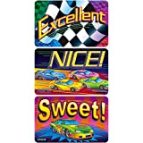 APPLAUSE STICKERS RACING TO SUCCESS