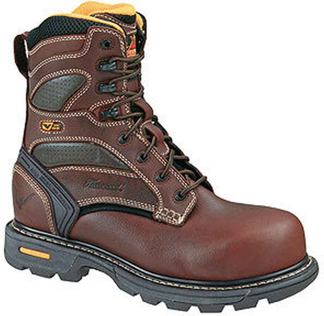 "Мужские ботинки Men's Thorogood 8"" Plain Toe Slip Resistant Work Boot"