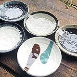 5枚セット 民芸の里 我が家の和食 前菜デザートおばんざい皿 取り皿 中皿 ファミリーセット 和食器 和風 丸皿 和皿