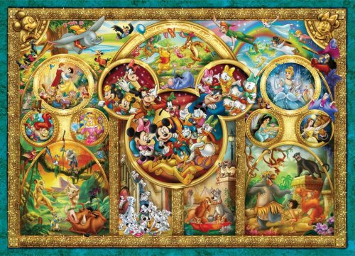 Ravensburger The Best Disney Themes Jigsaw Puzzle (1,000 Pieces)