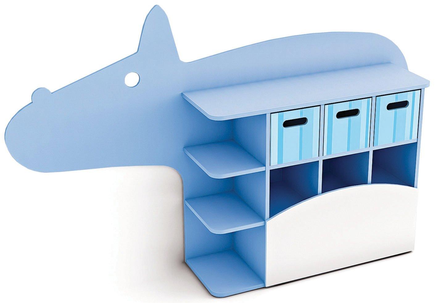 Kreativität Safari Range–Spielzimmer/Kinderzimmer Schrank Hippo