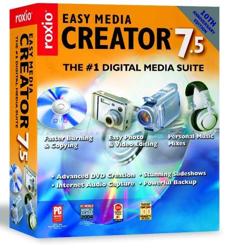 easy media creator version 7 gratuit
